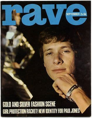 Rave Magazine September 1966 Troggs Walker Brothers Dave Berry Cliff Richard Paul Jones
