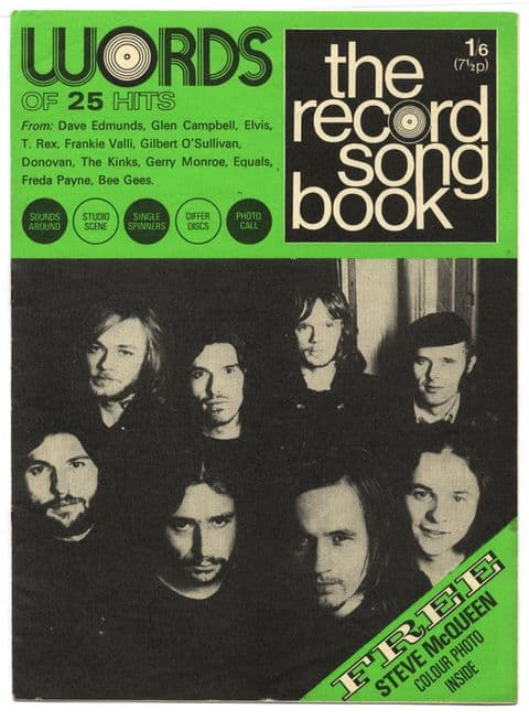 Record Song Book Magazine 1-1-1971 Fair Weather on cover Neil Diamond on rear
