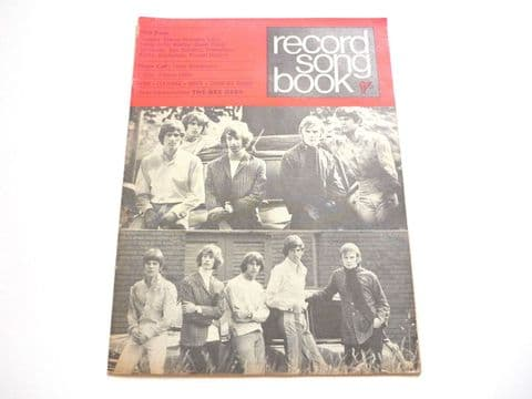Record Song Book Magazine 1-12-1967 Bee Gees on Cover Tony Blackburn on rear.