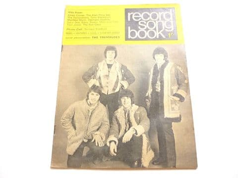 Record Song Book Magazine 1-3-1968 Tremeloes on Cover Nancy Sinatra on rear.