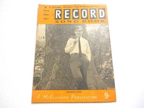 Record Song Book Magazine 1-4-1965 No 18 ? Georgie Fame on cover
