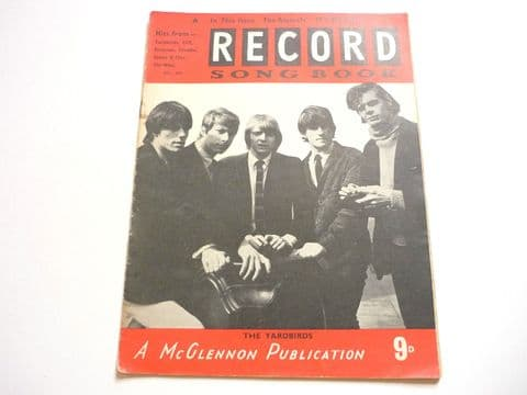 Record Song Book Magazine 1-5-1966? Yardbirds on cover