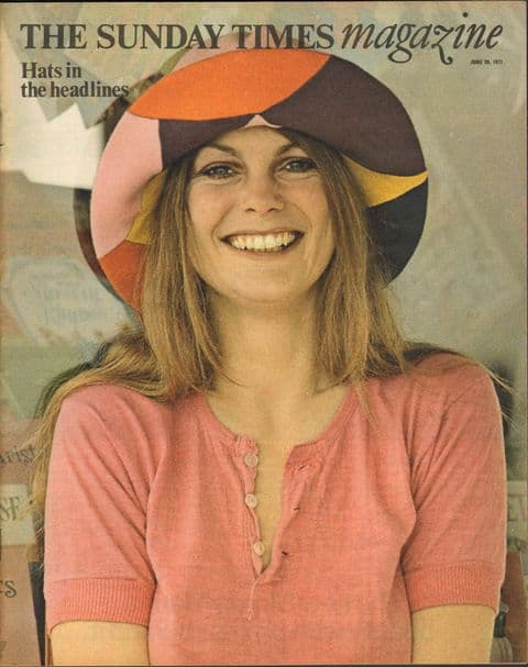 Sunday Times Magazine 20 June 1971 Mike Reid Post Office Hats in the headlines