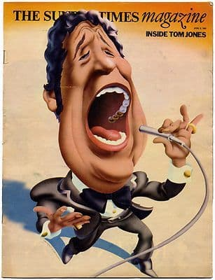 Sunday Times Magazine 6 April 1969 Tom Jones Holidays in Britain Women lecturers