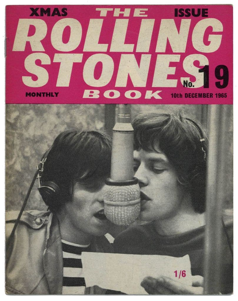 The Rolling Stones Book Issue No 19, 10th November 1965 Monthly Magazine Jagger/Richards