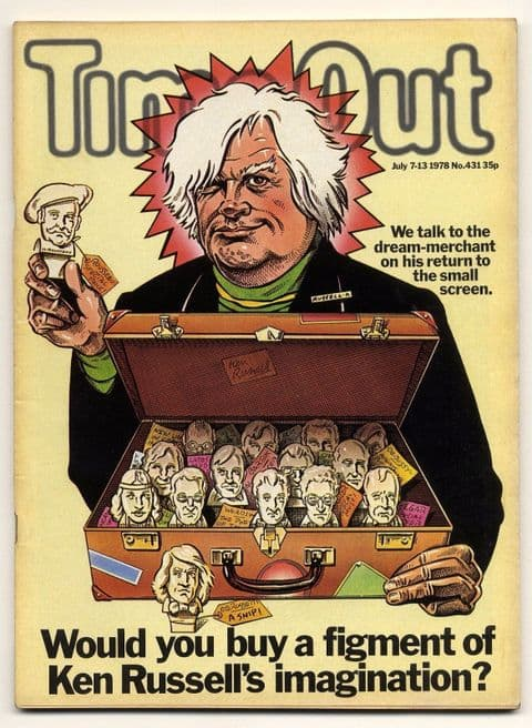 Time Out Magazine No 431 July 7-13, 1978 Ken Russell Ornette Coleman Leroy Jenkins