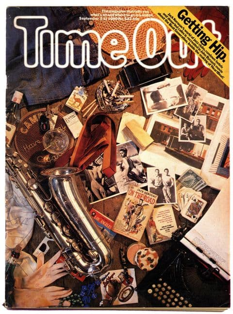Time Out Magazine No 542 July 1980 Beat Poets Beatniks Trevor Wishart TUC Record business recession