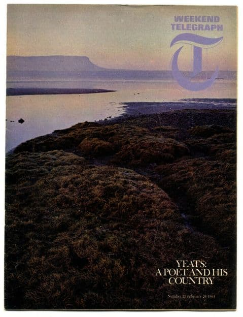 Weekend Telegraph magazine No 23 February 26 1965 W.B Yeats Gallipoli Fox Hunt