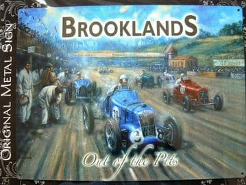 BROOKLANDS OUT OF THE PITS