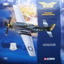 CORGI 49303 P51D MUSTANG CONFEDERATE AIR FORCE
