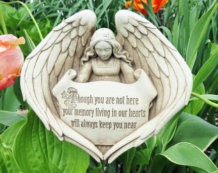 Carruth Forever In Our Hearts Memorial Garden Plaque
