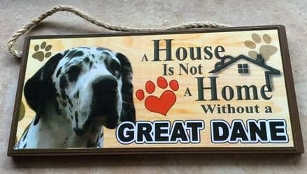 GREAT DANE Wall Plaque