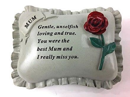 Mum Memorial Pillow