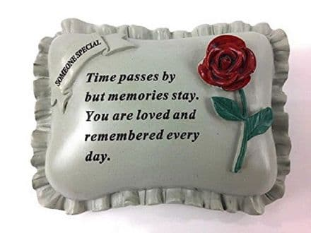 Someone Special Memorial Pillow