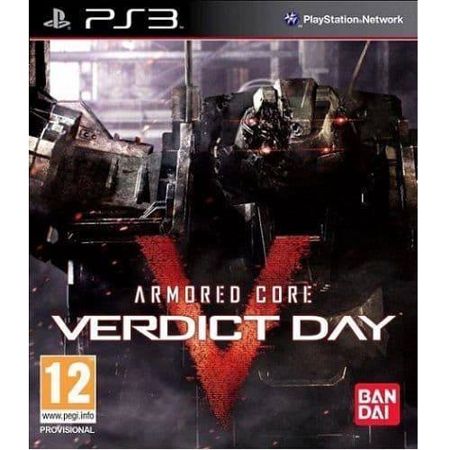 Armored Core Verdict Day PS3 Game