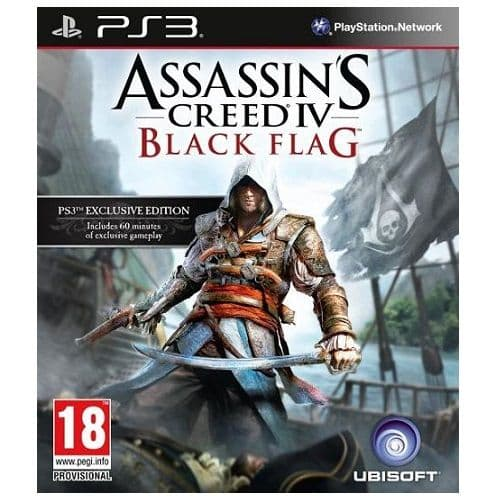 Assassins Creed IV (4) Black Flag PS3 Game