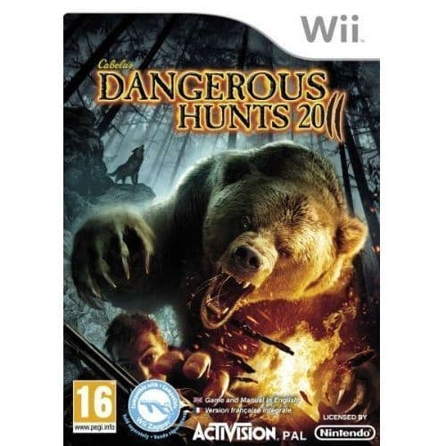Cabelas Dangerous Hunts 2011 [GAME ONLY] Nintendo Wii Game