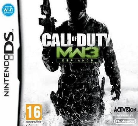 Call of Duty Modern Warfare 3 Nintendo DS Game