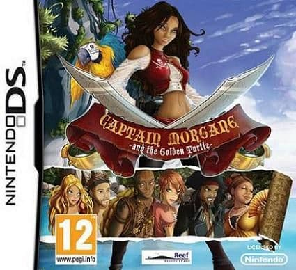Captain Morgane and the Golden Turtle Nintendo DS Game