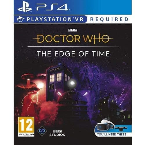 Doctor Who The Edge of Time [PSVR Required] PS4 Game