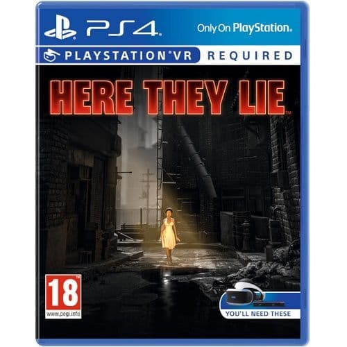 Here They Lie VR [PSVR required] PS4 Game