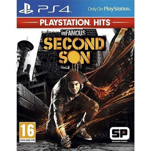 InFamous Second Son PlayStation Hits PS4 Game