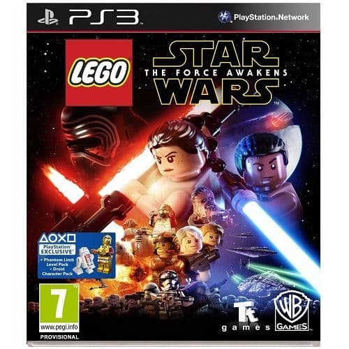 LEGO Star Wars The Force Awakens PS3 Game