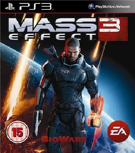 Mass Effect 3 PS3 Game