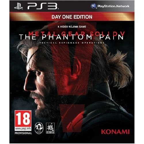Metal Gear Solid V The Phantom Pain PS3 Game