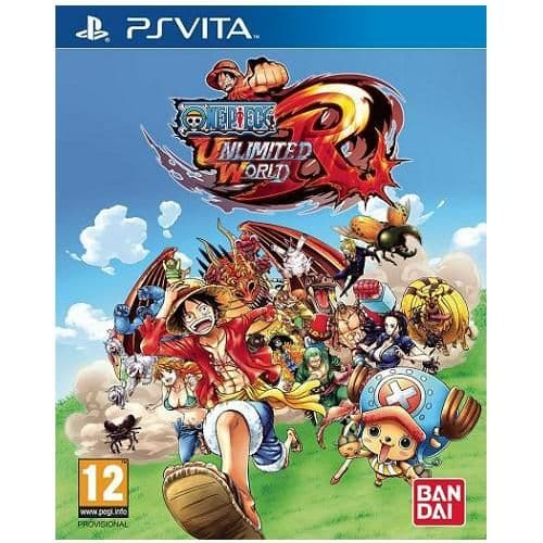 One Piece Unlimited World Red PS Vita Game