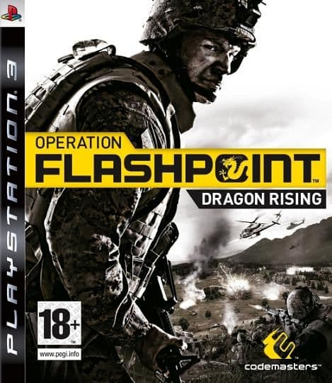 Operation Flashpoint 2 Dragon Rising PS3 Game