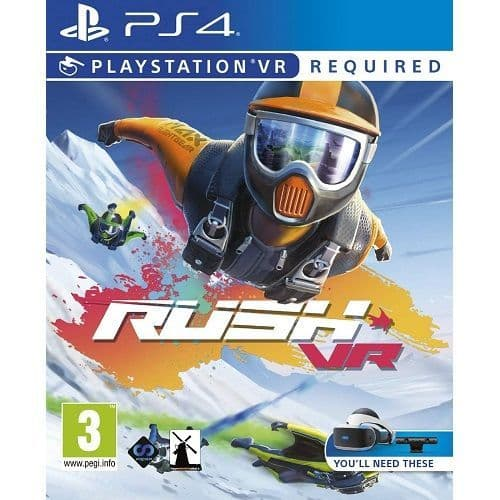 RUSH VR [PSVR Required] PS4 Game