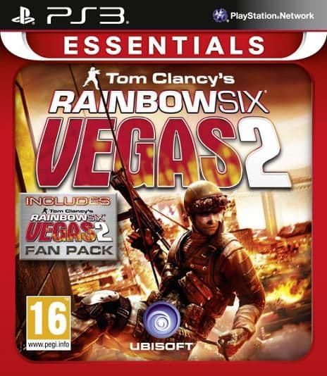 Rainbow Six Vegas 2 Complete Edition Essentials PS3 Game