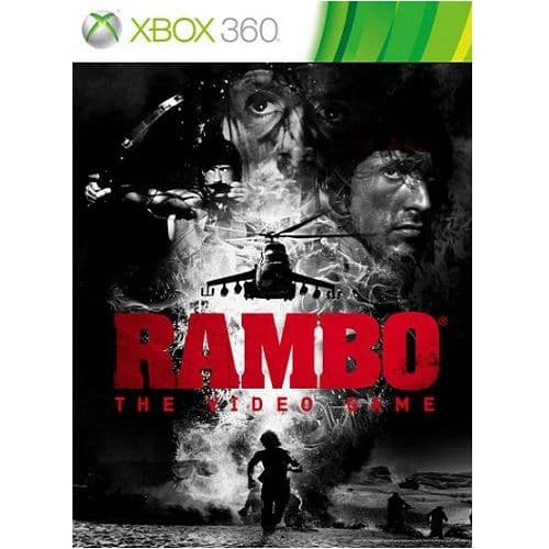 Rambo The Video Game Xbox 360 Game