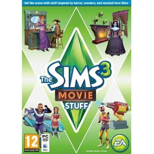 Sims 3 Movie Stuff PC Game