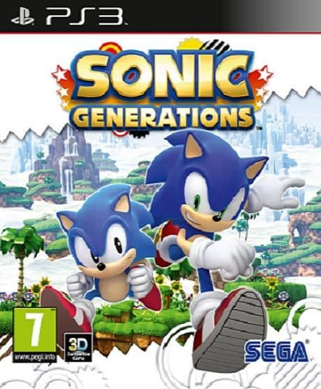 Sonic Generations PS3 Game