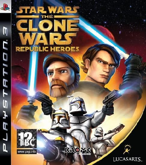 Star Wars The Clone Wars Republic Heroes PS3 Game