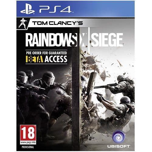 Tom Clancys Rainbow Six Siege PS4 Game