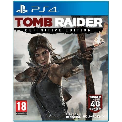 Tomb Raider Definitive Edition PS4 Game