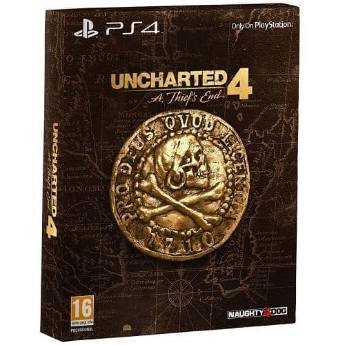 Uncharted 4 A Thiefs End Special Edition PS4 Game | Gamereload
