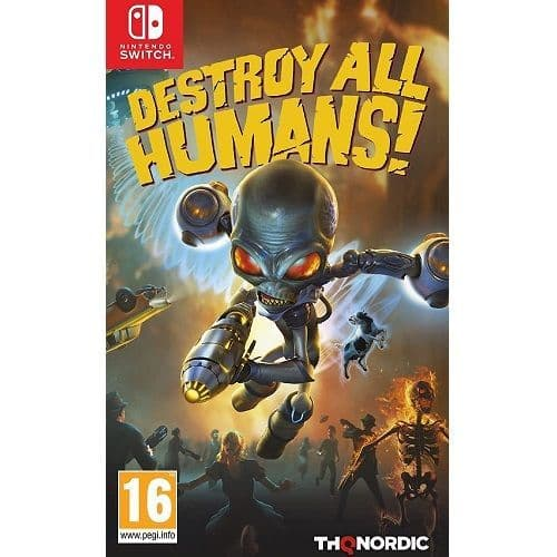 Destroy All Humans Nintendo Switch Game