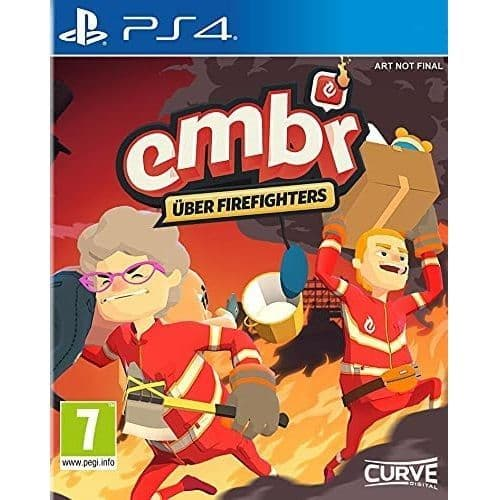 Embr Über Firefighters PS4 Game