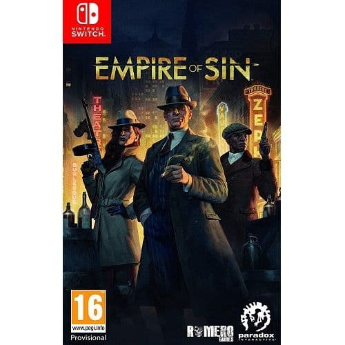 Empire of Sin Nintendo Switch Game