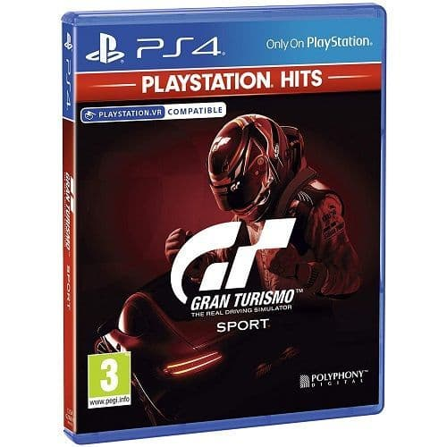 Gran Turismo Sport PlayStation Hits Game