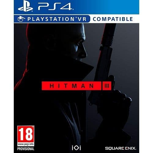 Hitman III [PSVR Compatible] PS4 Game