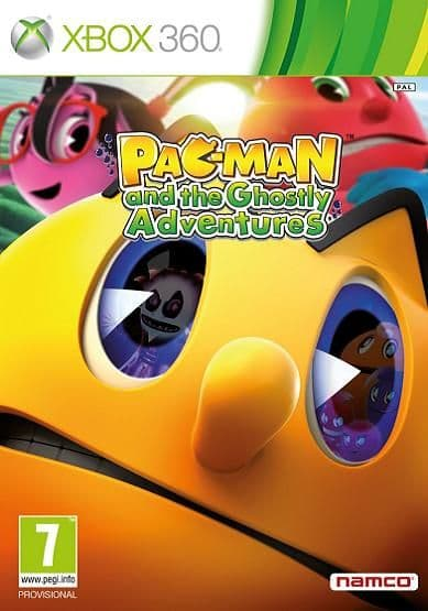 Pac-Man and the Ghostly Adventures Xbox 360 Game