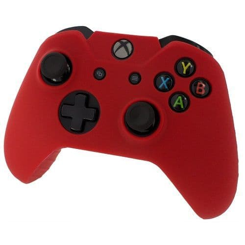 Pro Soft Silicone Skin Controller Cover [Red] for Xbox One