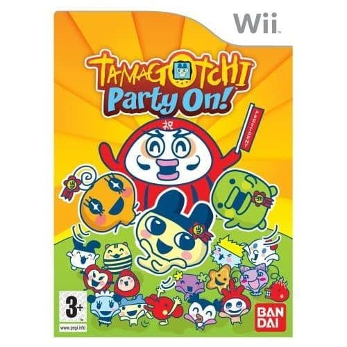 Tamagotchi Party On Nintendo Wii Game | Gamereload