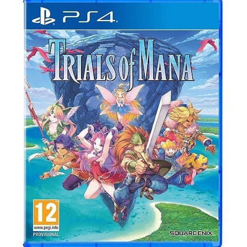 Trials of Mana PS4 Game
