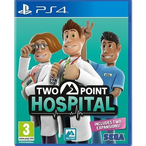 Two Point Hospital PS4 Game